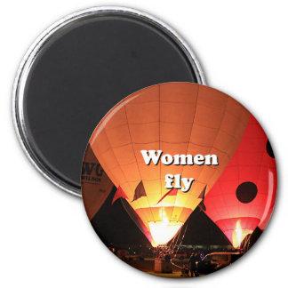 Imã As mulheres voam: balão de ar quente 2