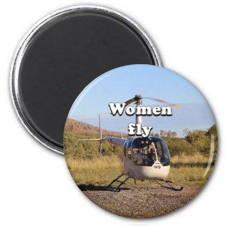 Imã As mulheres voam: Helicóptero 2 (brancos)
