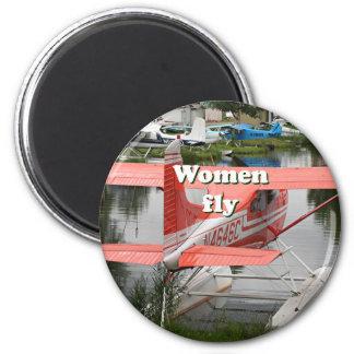 Imã As mulheres voam: plano 23 do flutuador, Alaska