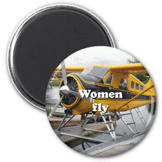 Imã As mulheres voam: plano do flutuador, capa do