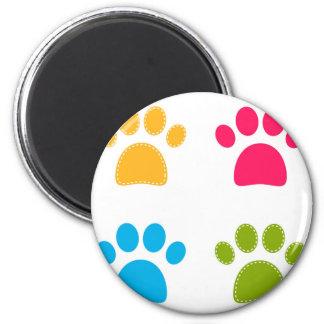 Imã As patas maravilhosas dos cães coloriram a edição