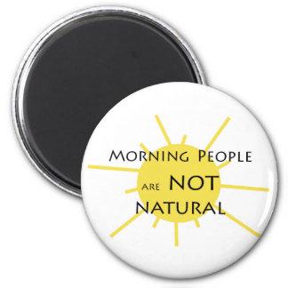 Imã As pessoas da manhã não são naturais