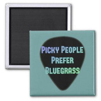 Imã As pessoas seletivos preferem o Bluegrass