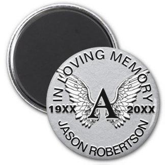 Imã Asas do anjo do memorial | do monograma |