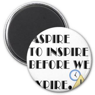 Imã Aspire inspirar antes que nós expiremos