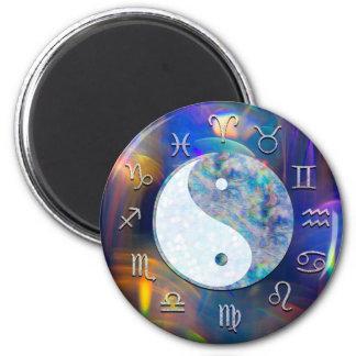 Imã Astrologia cósmica Yin Yang do zodíaco da galáxia