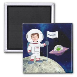 Imã Astronauta feito sob encomenda da foto na lua