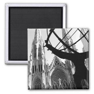 Imã Atlas & catedral de St Patrick: Ímã de NYC