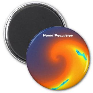 Ímã atual sadio da poluição de ruído ímã redondo 5.08cm