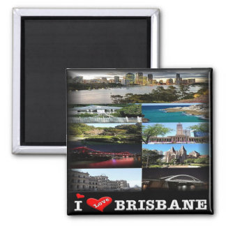 Imã AU * Austrália - Brisbane - mosaico