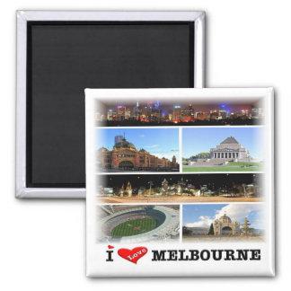 Imã AU * Austrália - Melbourne - mosaico