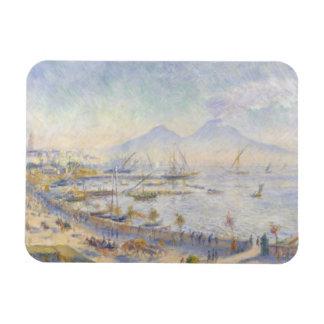 Ímã Auguste Renoir - a baía de Nápoles