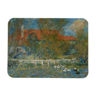 Ímã Auguste Renoir - a lagoa do pato