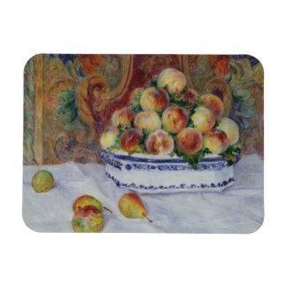 Ímã Auguste Renoir - ainda vida com pêssegos