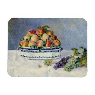 Ímã Auguste Renoir - ainda vida com pêssegos e uvas