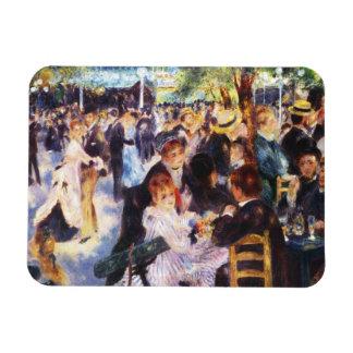 Ímã Auguste Renoir - dance no la Galette de Le moulin