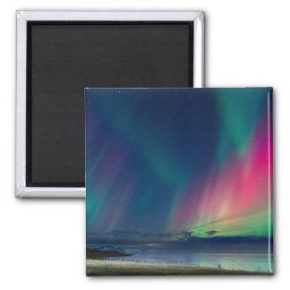 Imã Aurora boreal colorida
