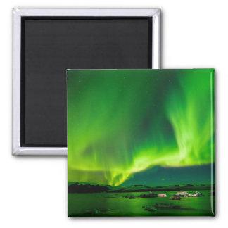 Imã Aurora boreal de Islândia