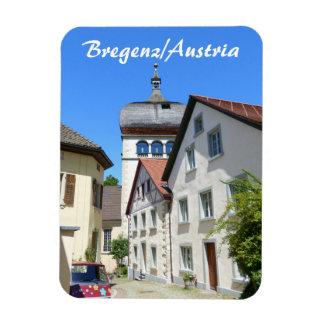 Ímã Áustria, lembrança velha da cidade de Bregenz