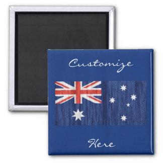 Imã azul australiano de Thunder_Cove do design da