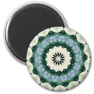 Imã Azul Cerulean e mandala verde de Sacramento