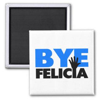 Imã Azul corajoso da onda da mão de Felicia do adeus