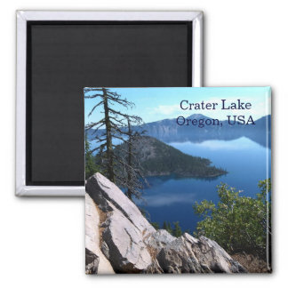 Ímã azul profundo do viagem de Oregon EUA do lago Imã