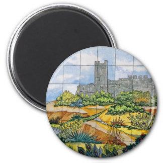 Imã Azulejo do castelo de Fuengirola, Fuengirola,