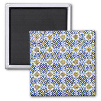 Imã Azulejo sem emenda da arte de Azulejo