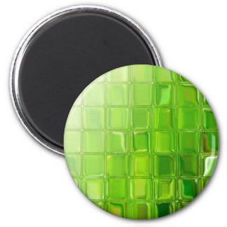 Imã Azulejos do vidro verde