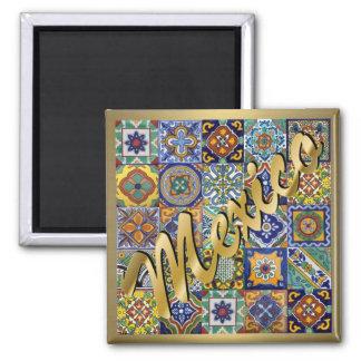 Imã Azulejos mexicanos