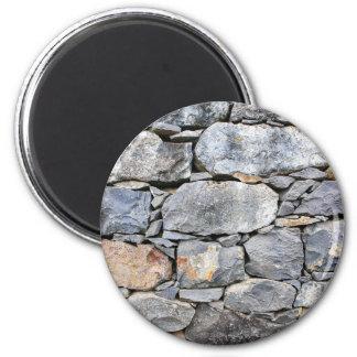 Imã Backgound de pedras naturais como a parede