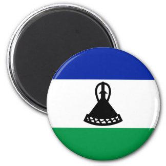 Imã Baixo custo! Bandeira de Lesotho