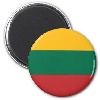 Imã Baixo custo! Bandeira de Lithuania