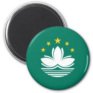 Imã Baixo custo! Bandeira de Macau