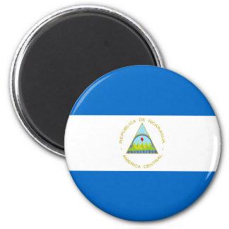 Imã Baixo custo! Bandeira de Nicarágua