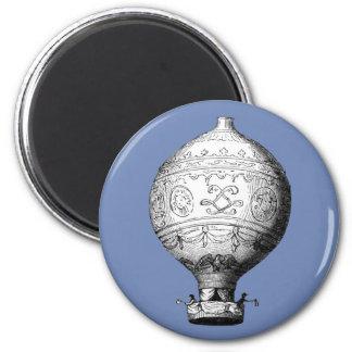 Imã Balão de ar quente do vintage de Montgolfier