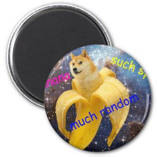 Imã banana   - doge - shibe - espaço - uau doge