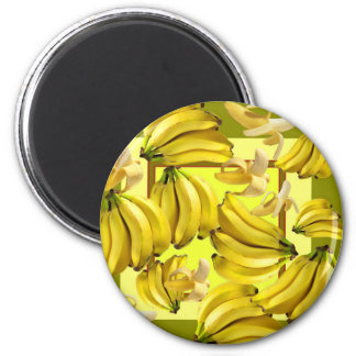 Imã bananas amarelas