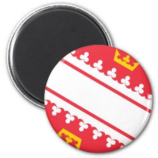 Imã Bandeira Alsácia (France) Drapeau Alsácia Flagge