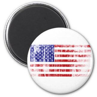 Imã Bandeira americana afligida