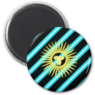Imã Bandeira argentina das listras