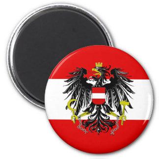 Imã Bandeira austríaca