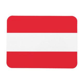 Ímã Bandeira austríaca patriótica