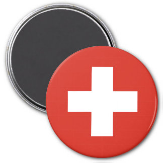 Imã Bandeira da suiça