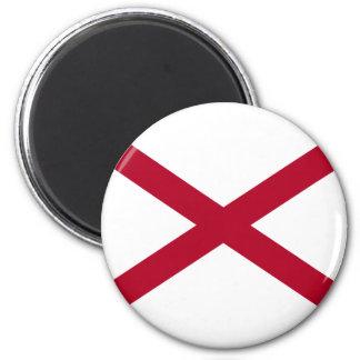 Imã Bandeira de Alabama