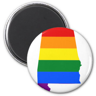 Imã Bandeira de Alabama LGBT