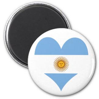 Imã Bandeira de Argentina