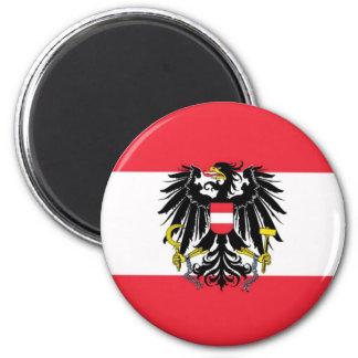 Imã Bandeira de Áustria - Flagge Österreichs