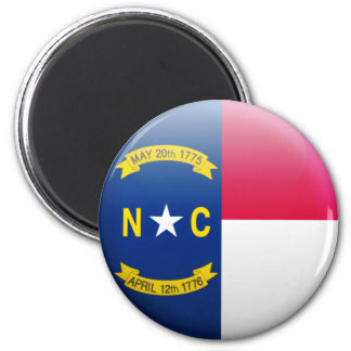 Imã Bandeira de North Carolina